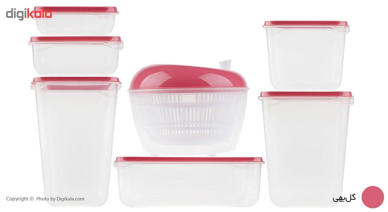 ست ظروف نگهدارنده و سبزي خشک کن همارا مدل G-SP-02